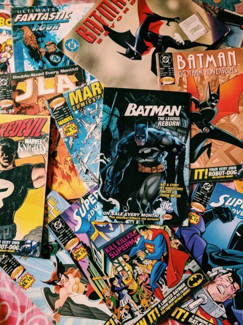 comic books of superheroes