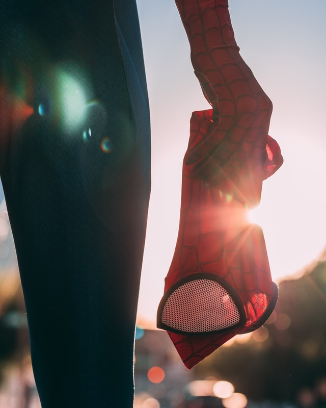 you can become a presentation superhero like peter parker became a spiderman