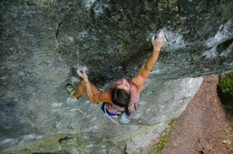 developing presentation skills is like learning to rock climb