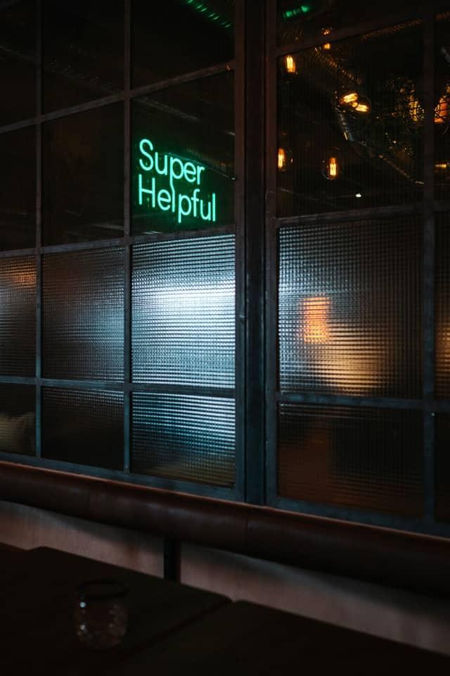 Helpfulnes is a form of presentation preparations.