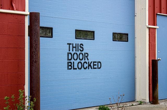 Bad Timing blocks the door of opportunity.